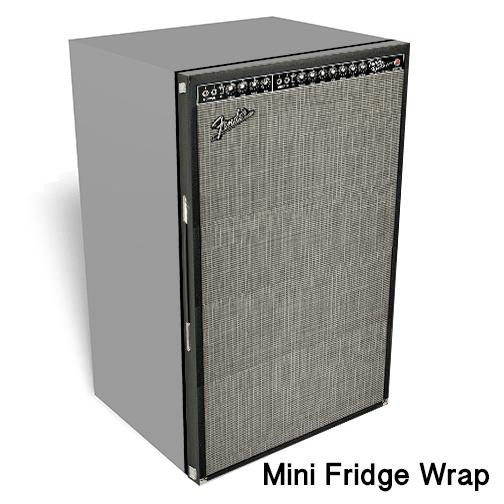 Fender Amp Mini Fridge Skin — Rm Wraps