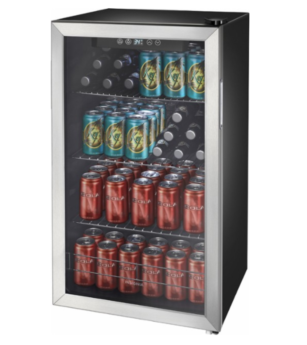 https://www.bestbuy.com/site/insignia-115-can-beverage-cooler-stainless-steel-black/5257100.p?skuId=5257100