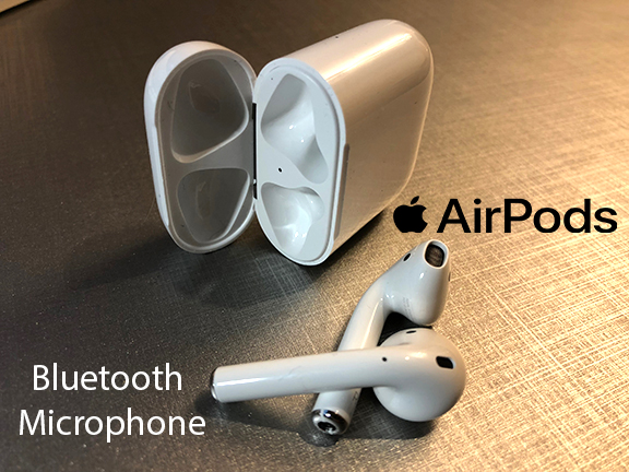Bluetooth Microphone for the iphone 8 and iphone X Rmwraps