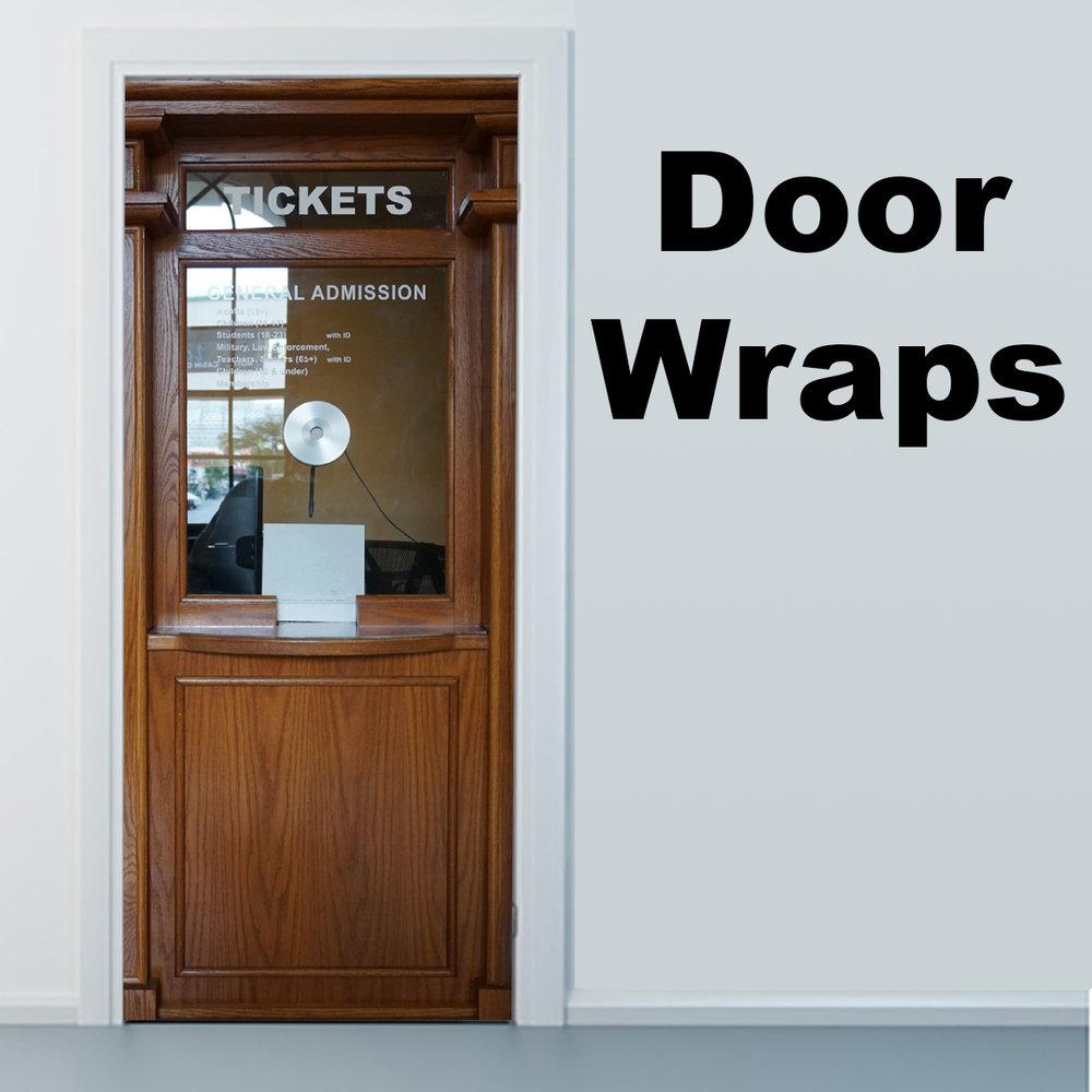 Ticket booth Door Skin