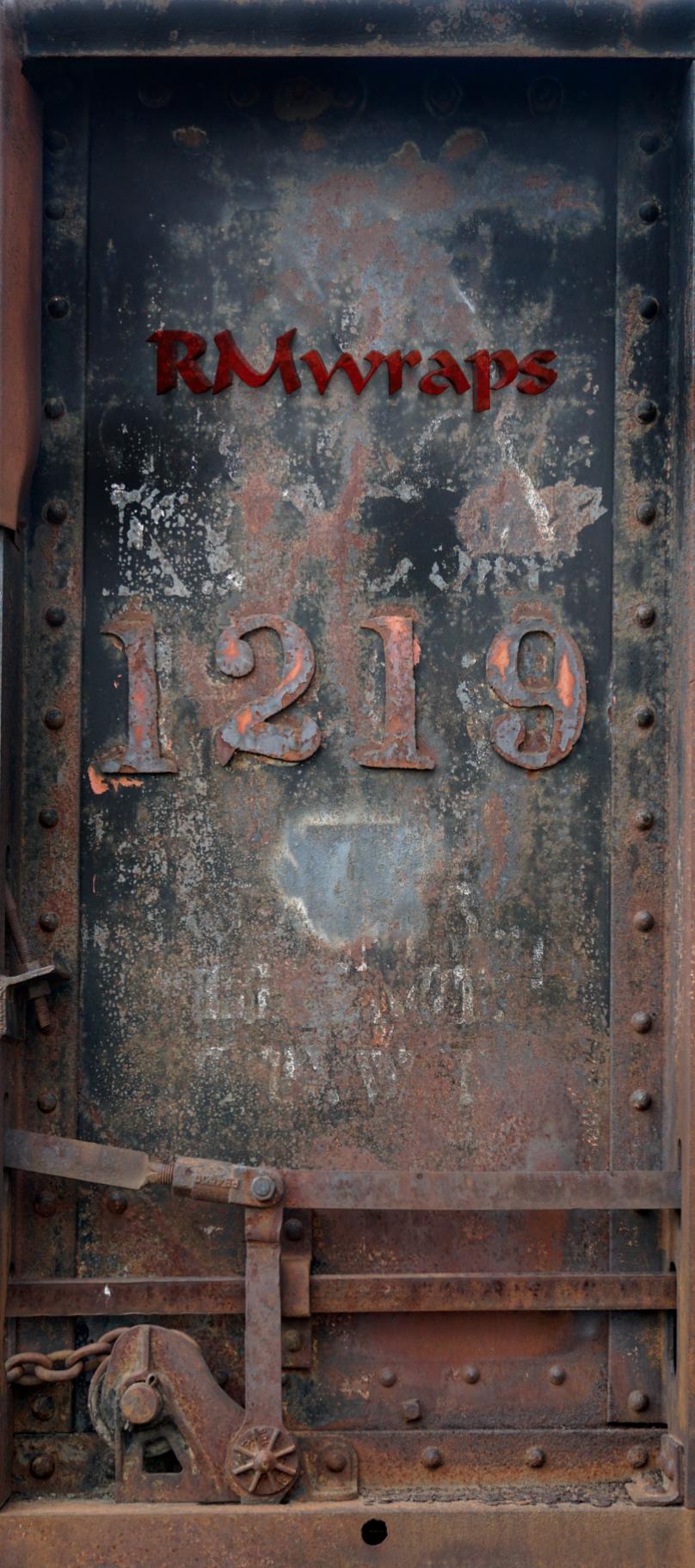 Train Car Number 1219 Door Wrap logo.png