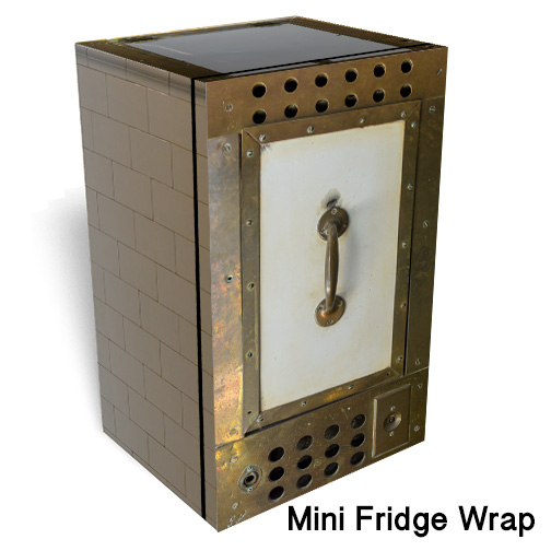 VIZCAYA Mini Fridge Wrap