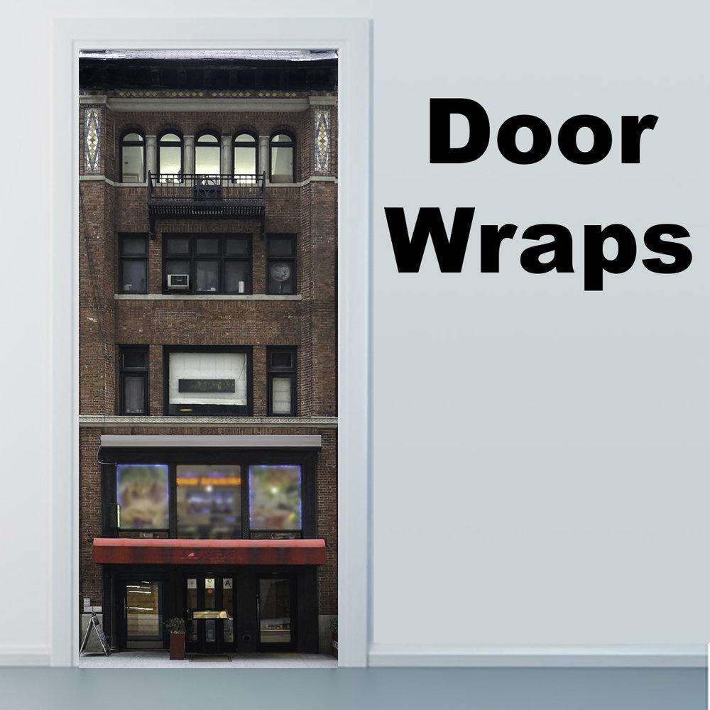 234 Building Door wrap
