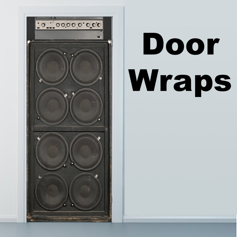 Amplified 8 Speakers Door wrap