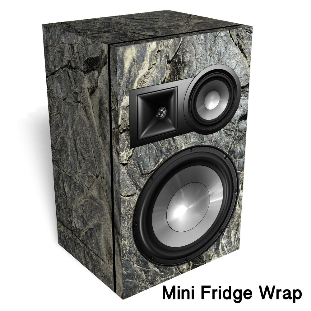 Hard Rock Speaker Mini Fridge Wrap