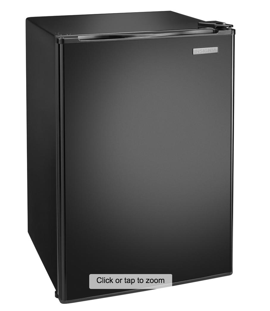 Insignia™ - 2.6 Cu. Ft. Mini Fridge - Black