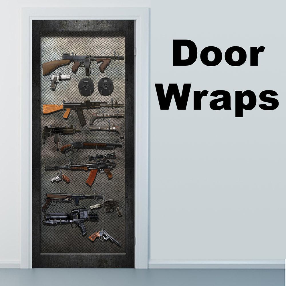 Armory Door wrap