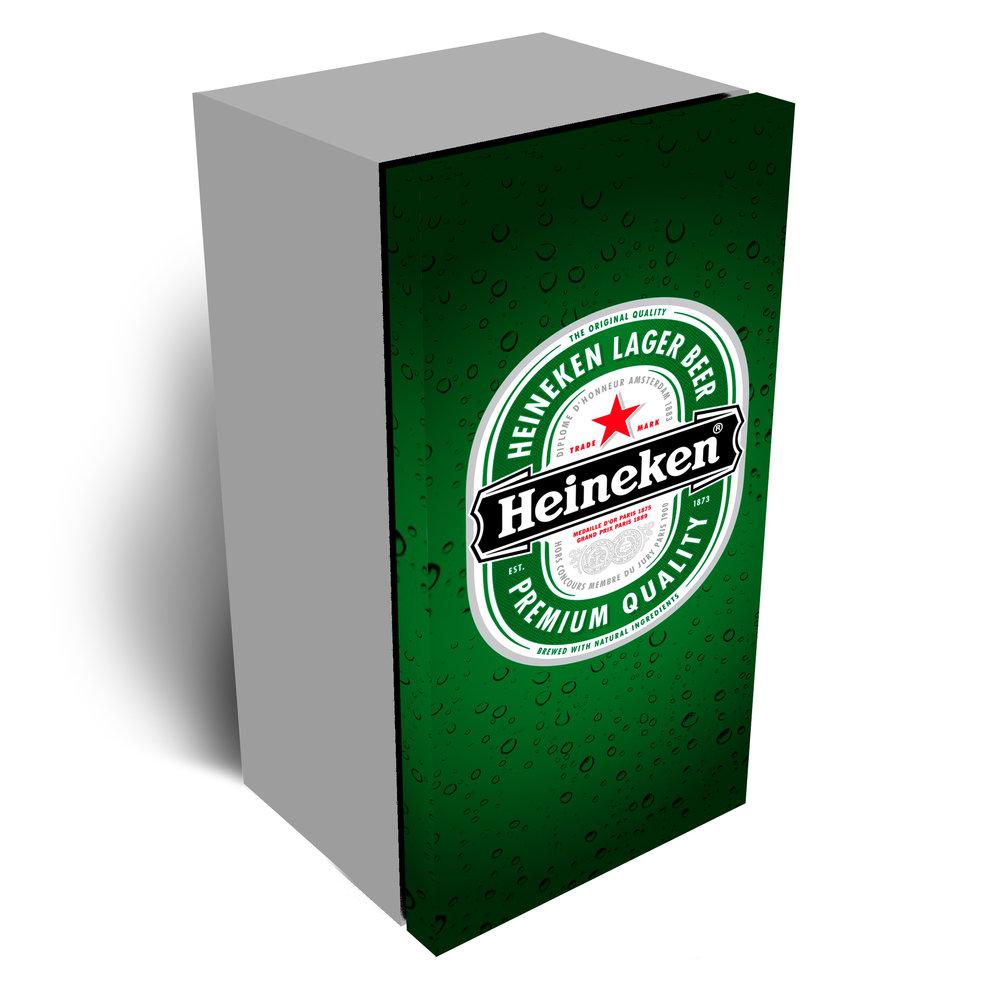 Heineken Refrigerator Wrap 1