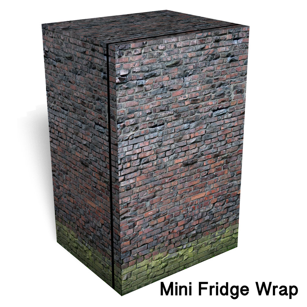 Aqua Pura Brick Mini Fridge Wrap