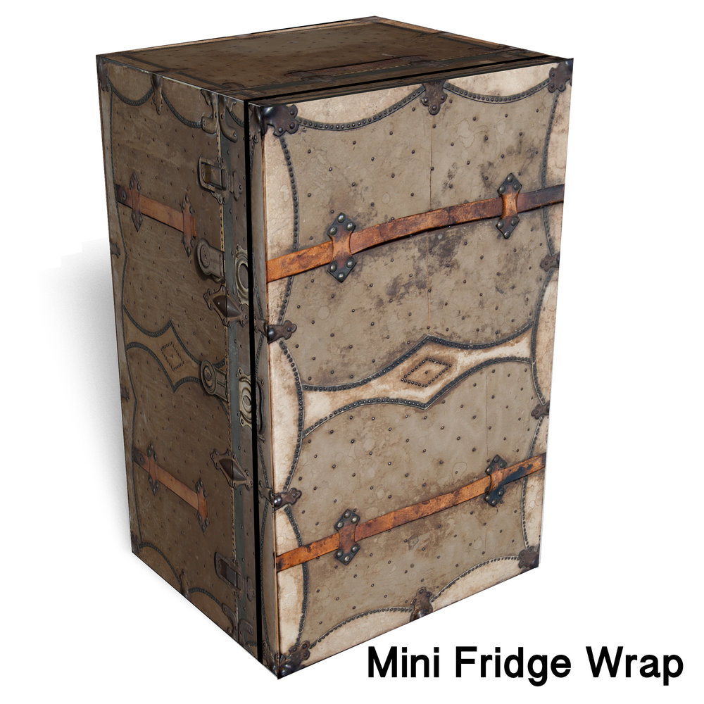 Chest Vintage Mini fridge