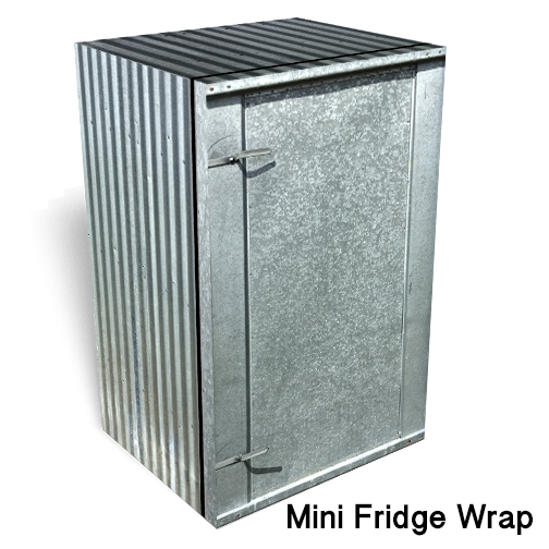 Corrugated Metal Mini Fridge skin2
