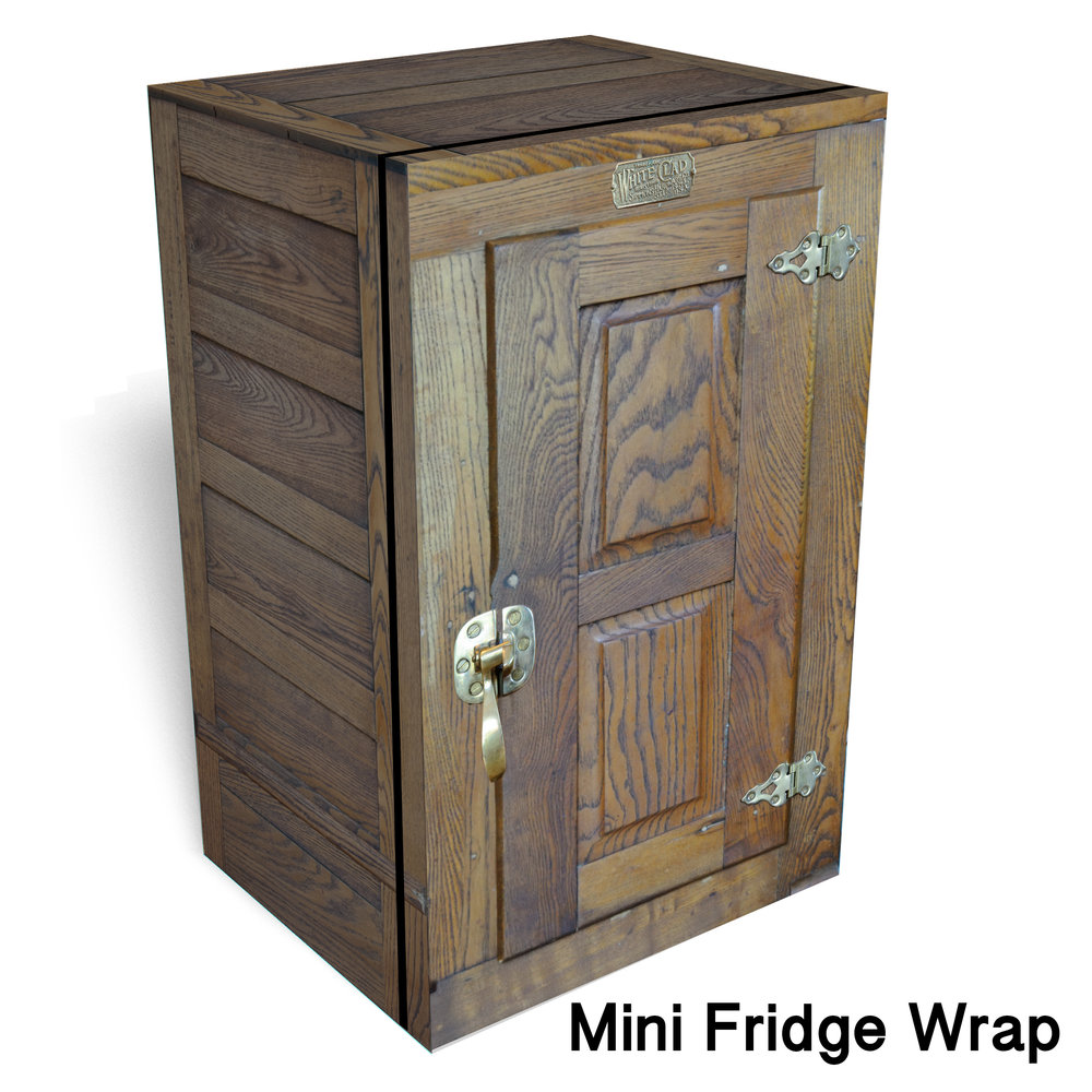 Icebox Mini fridge wrap