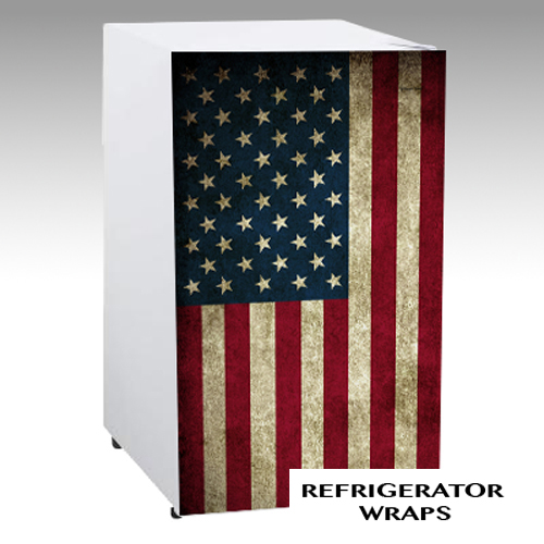USA FLAG mini fridge