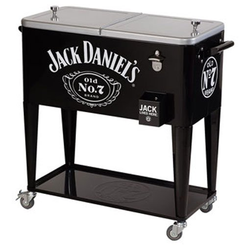 Jack Daniel's 80-qt. Rolling party ice cooler