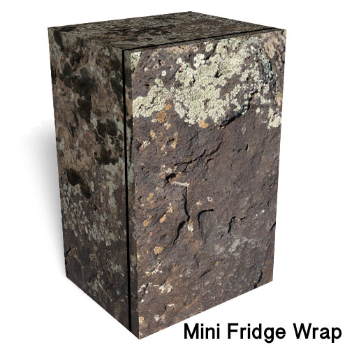 TFI Rock Camo Mini Fridge Wrap