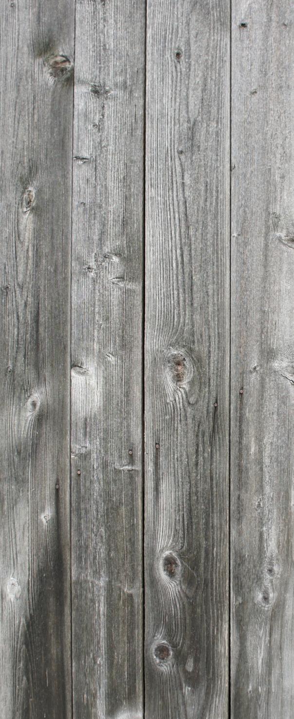 Old Barn Door Refrigerator Wrap