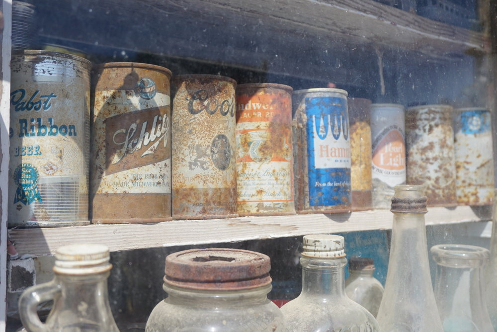Copy of Old beer cans