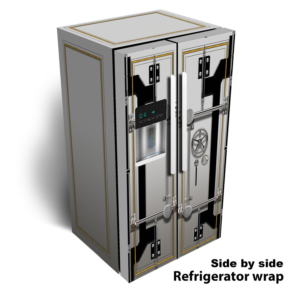 Vault Side by Side Refrigerator Wrap