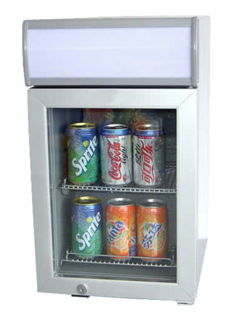 https://www.webstaurantstore.com/excellence-sc-22-white-countertop-display-refrigerator-with-swing-door-0-7-cu-ft/360SC22.html
