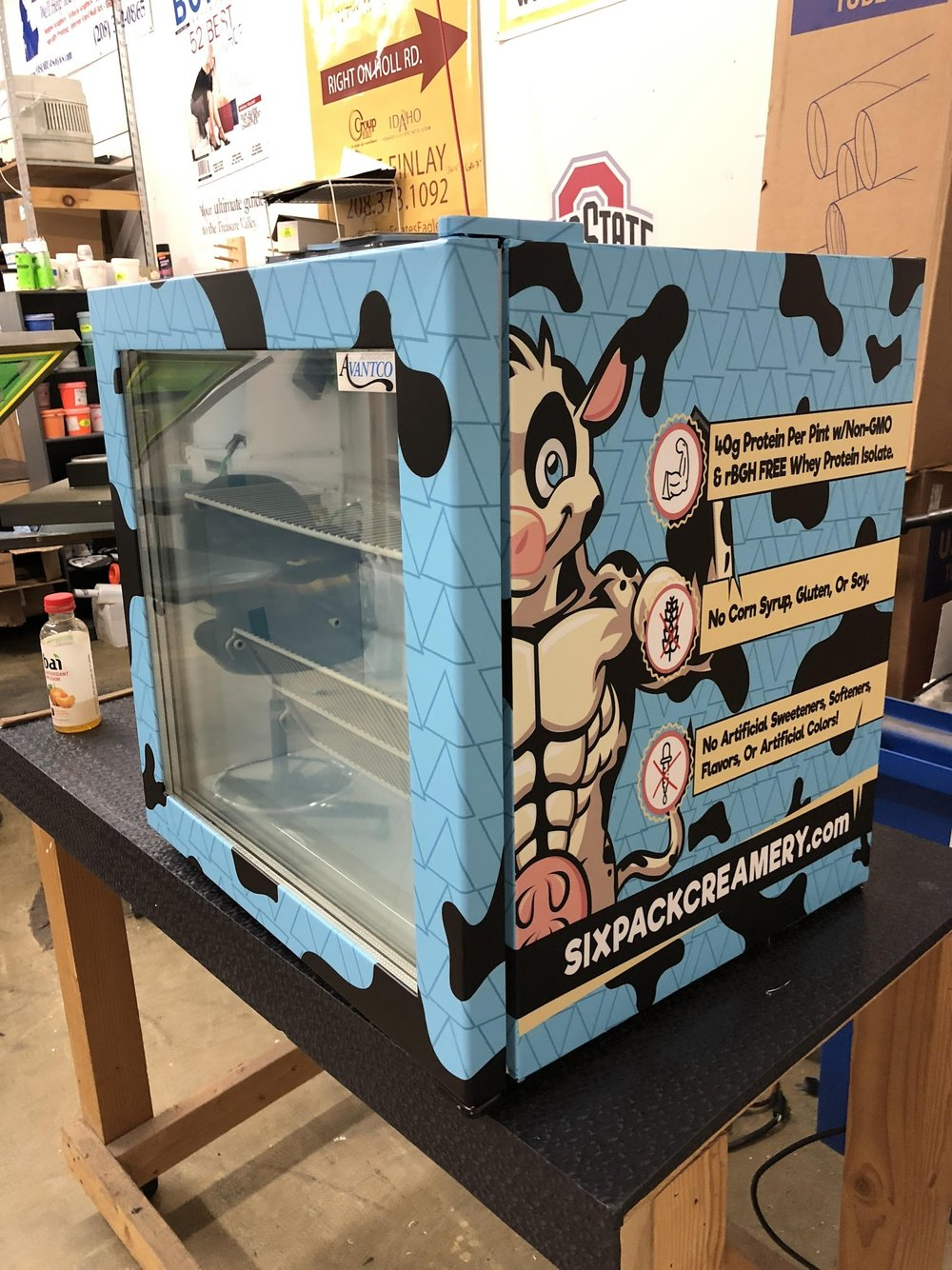 SIX PACK CREAMERY Freezer Wrap