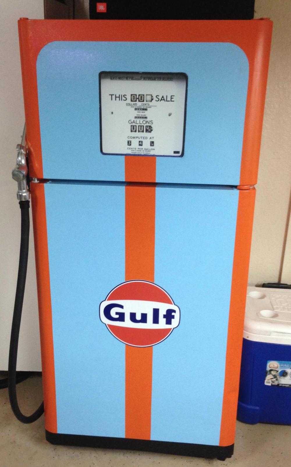 Vintage Gas pump Gauge Wrap #6612