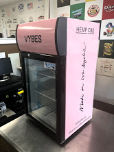 Vybes Mini Fridge wrap