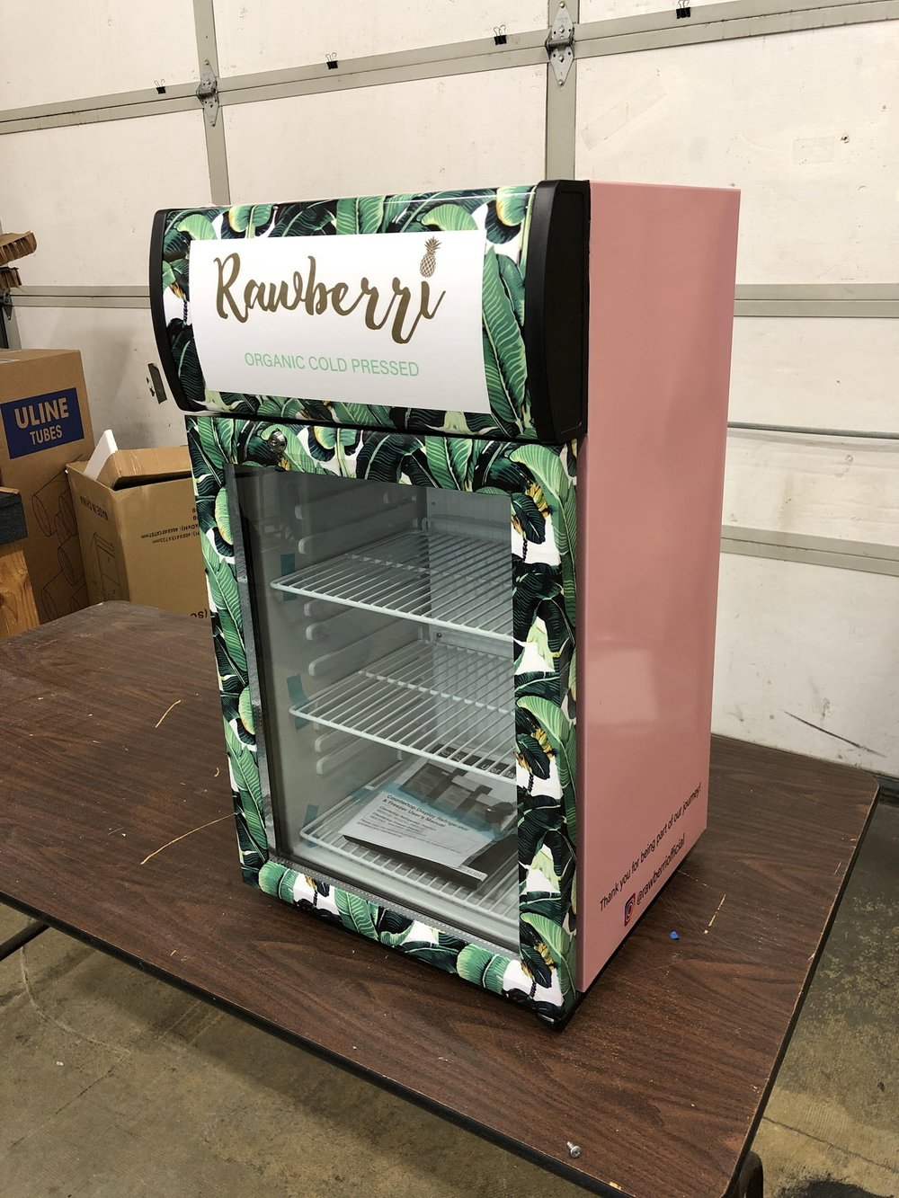 Rawberri Mini Fridge Wrap