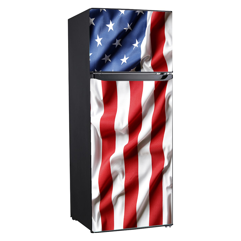 USA Flag, print, Rm wraps, Fridge wraps, refrigerator wraps, 10 cu. ft. fridge, US stars