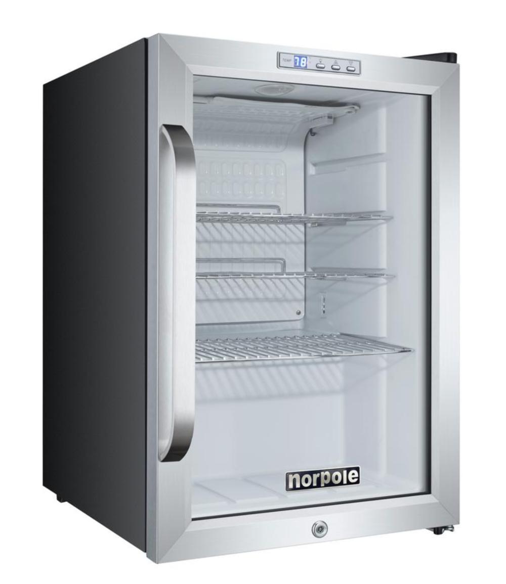 Norpole Mini fridge, Rm wraps