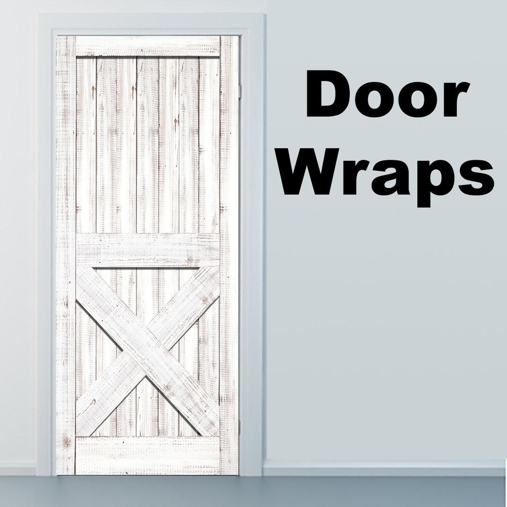 Star Trek Holodeck Door wrap