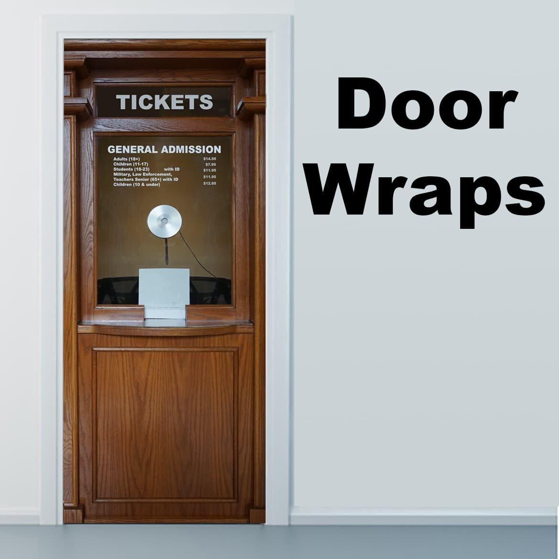 Ticket Door Skin Rm Wraps