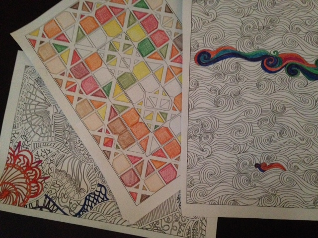 For Me Coloring Is Stress Relieving But I Have To Forgive My Mistakes Im A Perfectionist So Can Get Out Of Control