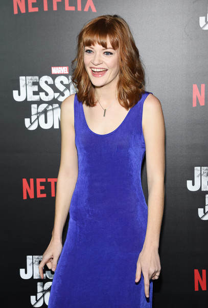 "At the ""Jessica Jones"" Premiere in New York"
