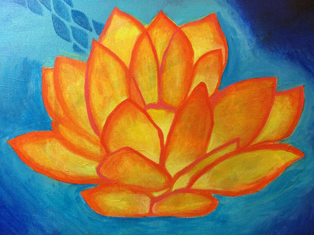 Svadhisthana Chakra Orange Lotus