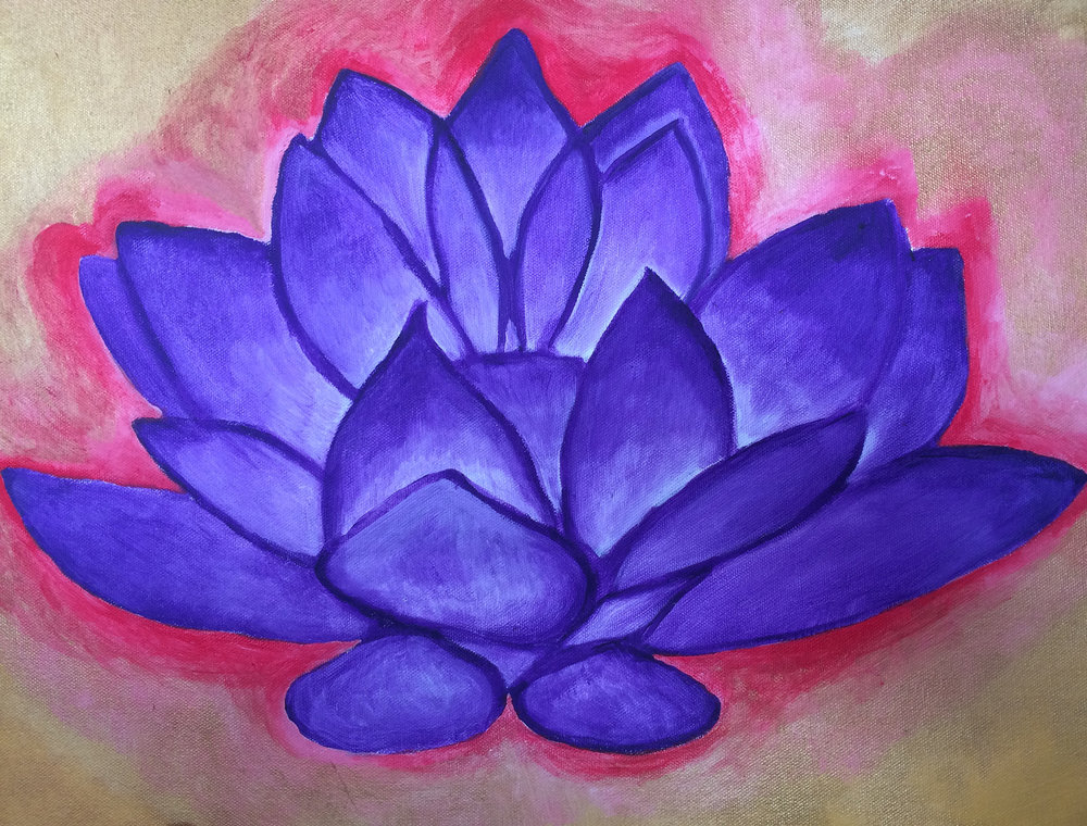 Sahasrara Chakra Purple Lotus