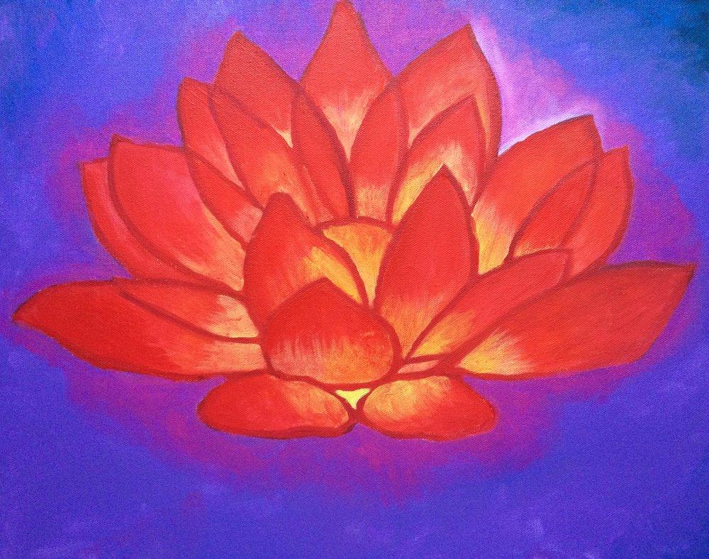 Mulidhara Chakra Red Lotus