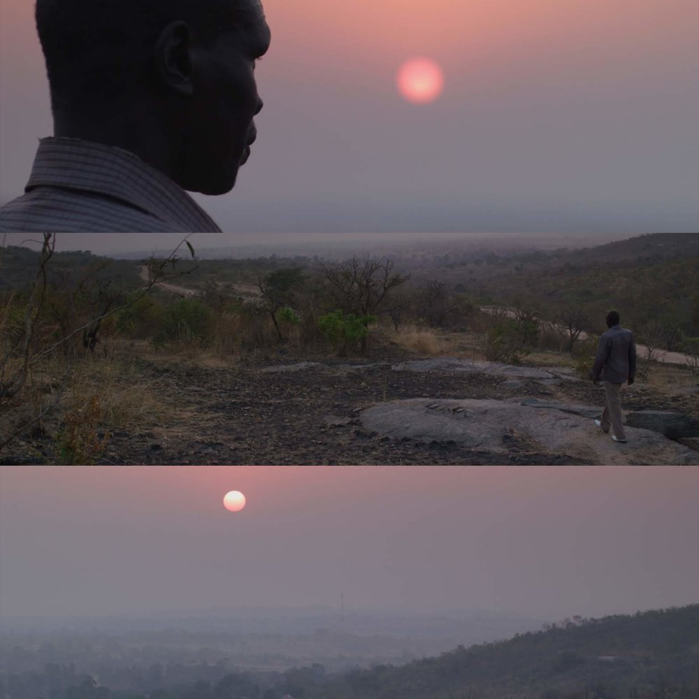 Copy of Elder Simon Peter stands before the sunrise
