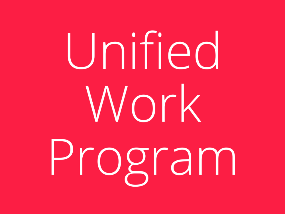 WATS' and AAATA's Unified Work Program