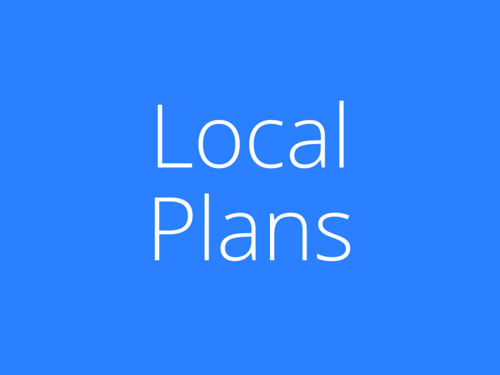 Link to Local Plans and Resources