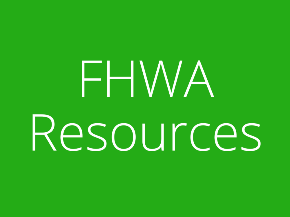 Link to FHWA Resource List