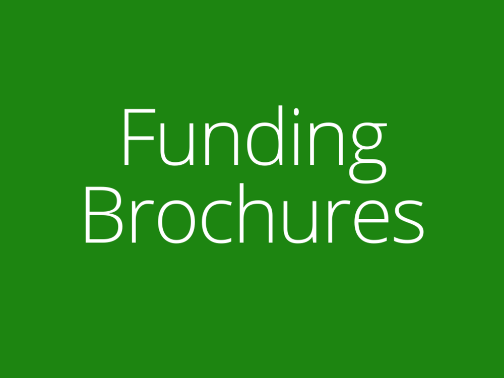 Link to WATS Funding Brochures