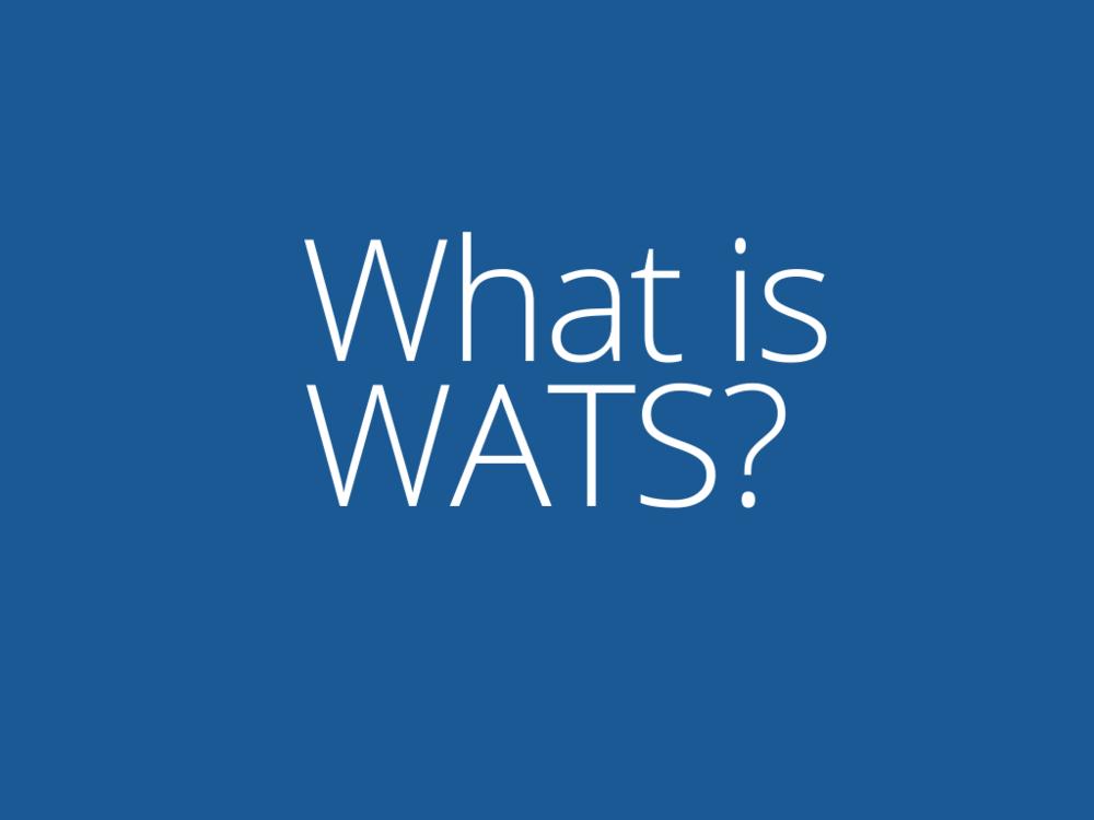 What is WATS? Brochure