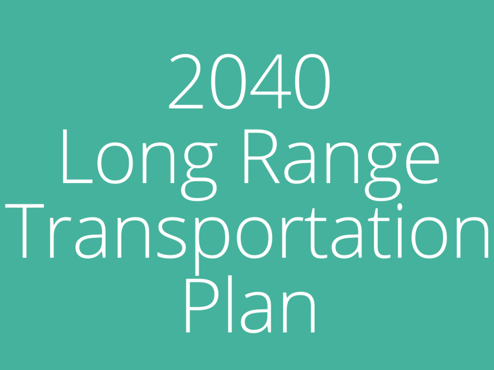 2040 Long Range Transportation Plan homepage