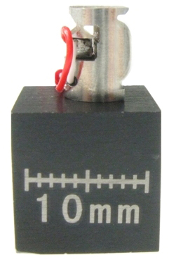 Miniature Actuator controlled by piezo technology with a resonant frequency of over 10 kHz and a resolution of 60 nanoradians.