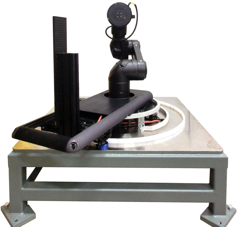 Goniometer instrument to automate optical data collection.