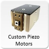 Custom Piezo motors available for OEM