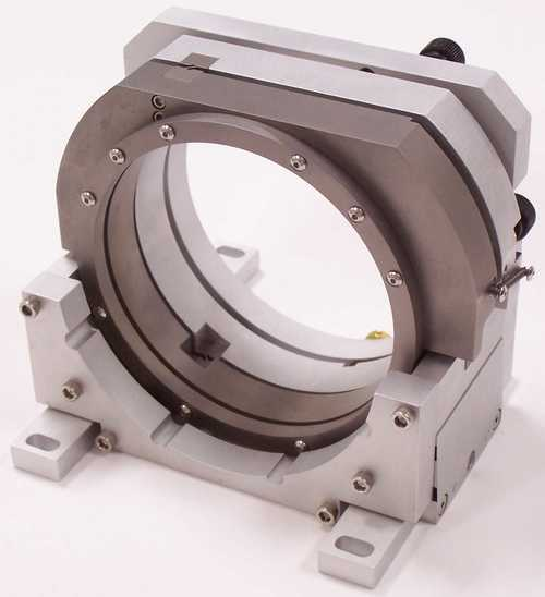 3 Axis rotary kinematic optical flexure mount stage