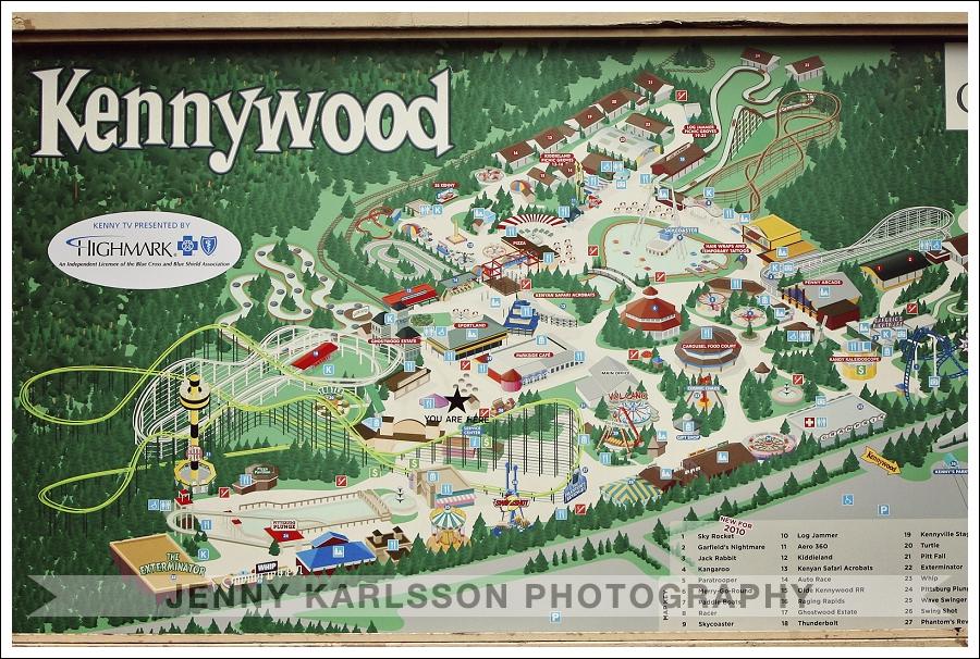 Kennywood Park Wedding Photography 001