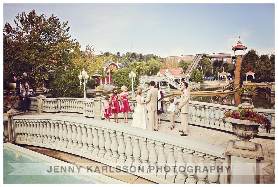 Kennywood Park Wedding Photography 008