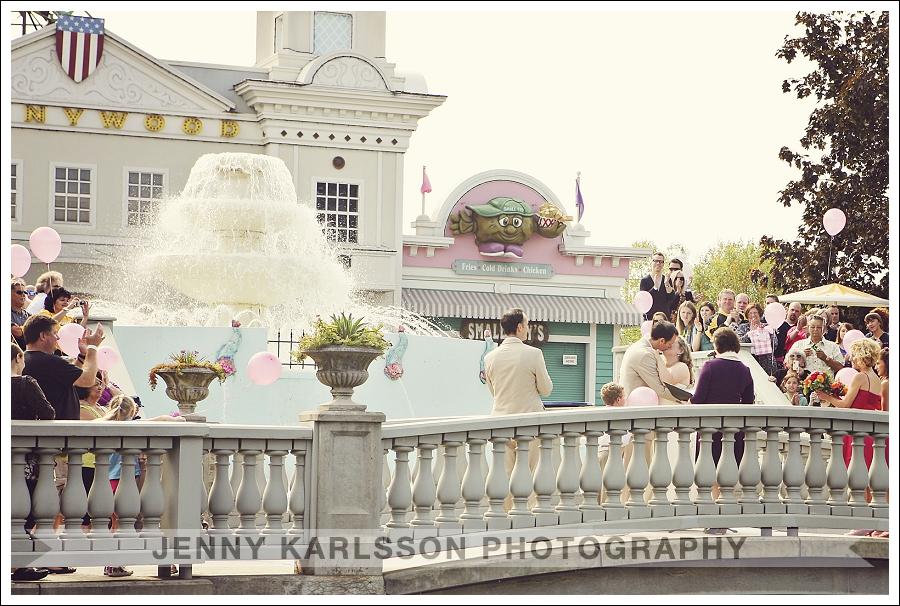 Kennywood Park Wedding Photography 011